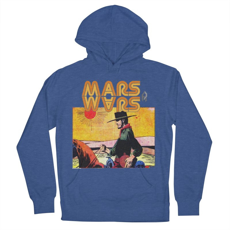 Mars Travels. Men's Pullover Hoody by Shadeprint's Artist Shop