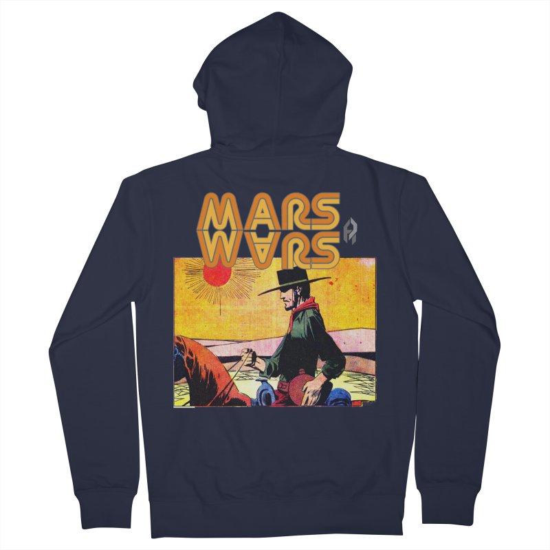 Mars Travels. Women's Zip-Up Hoody by Shadeprint's Artist Shop