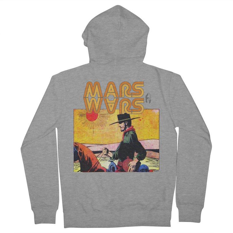 Mars Travels. Men's Zip-Up Hoody by Shadeprint's Artist Shop