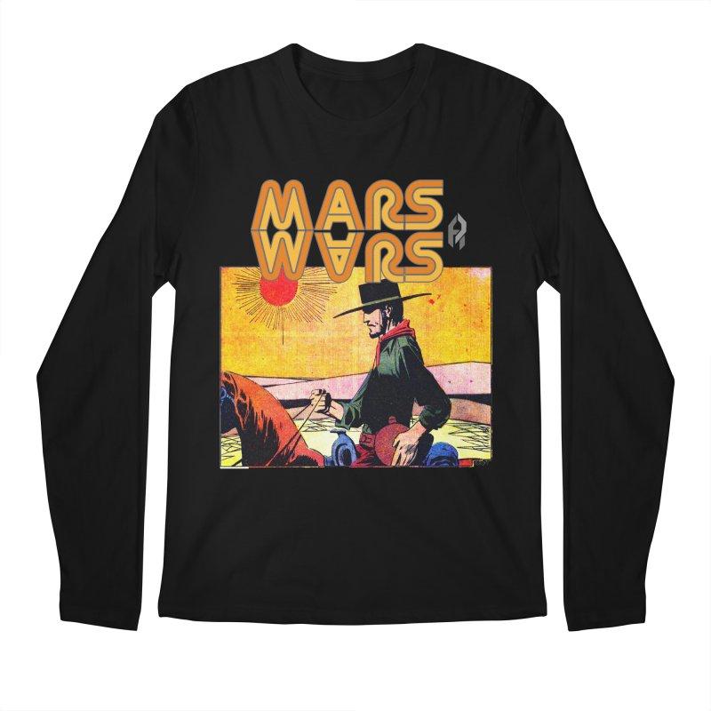 Mars Travels. Men's Longsleeve T-Shirt by Shadeprint's Artist Shop