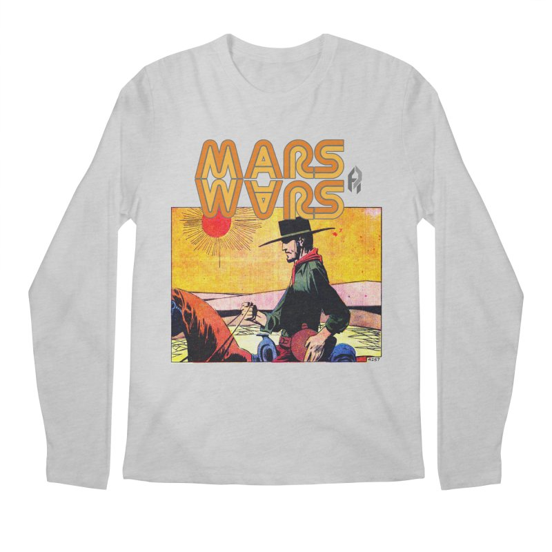 Mars Travels. Men's Longsleeve T-Shirt by Shadeprint's Artist Shop