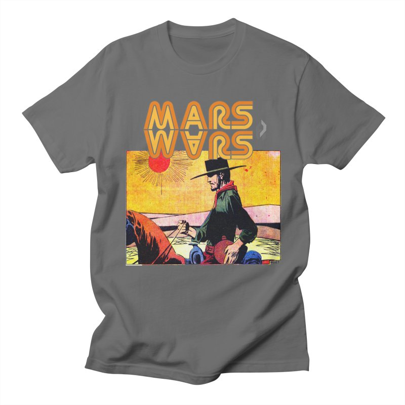 Mars Travels. Men's T-Shirt by Shadeprint's Artist Shop