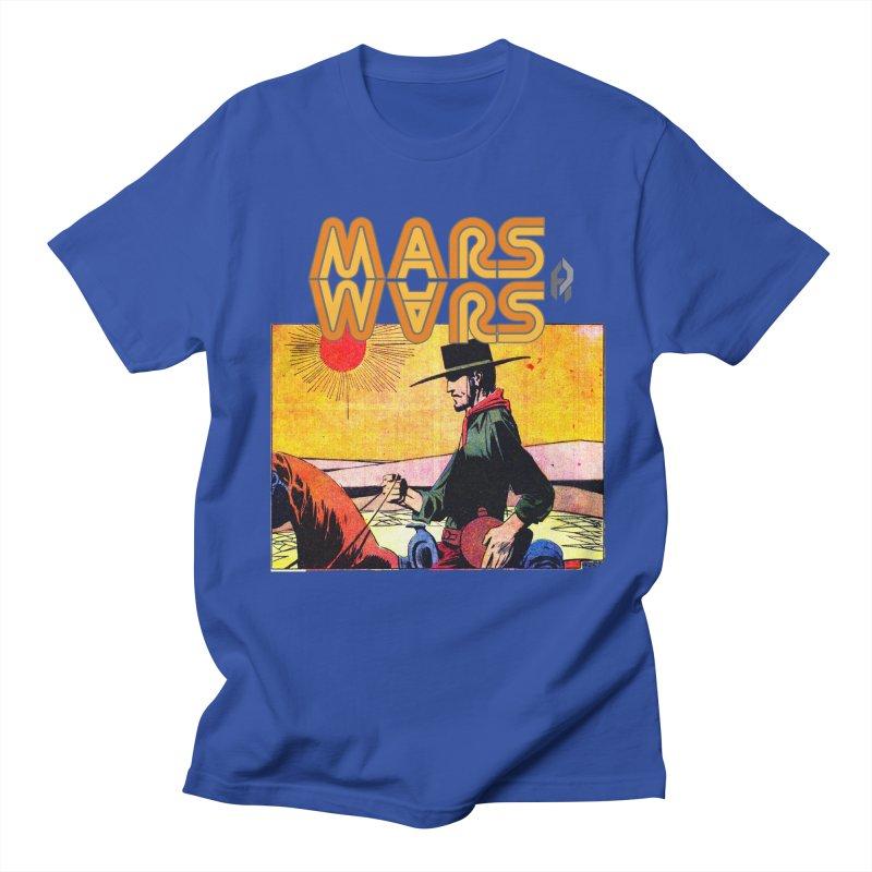Mars Travels. Men's Regular T-Shirt by Shadeprint's Artist Shop