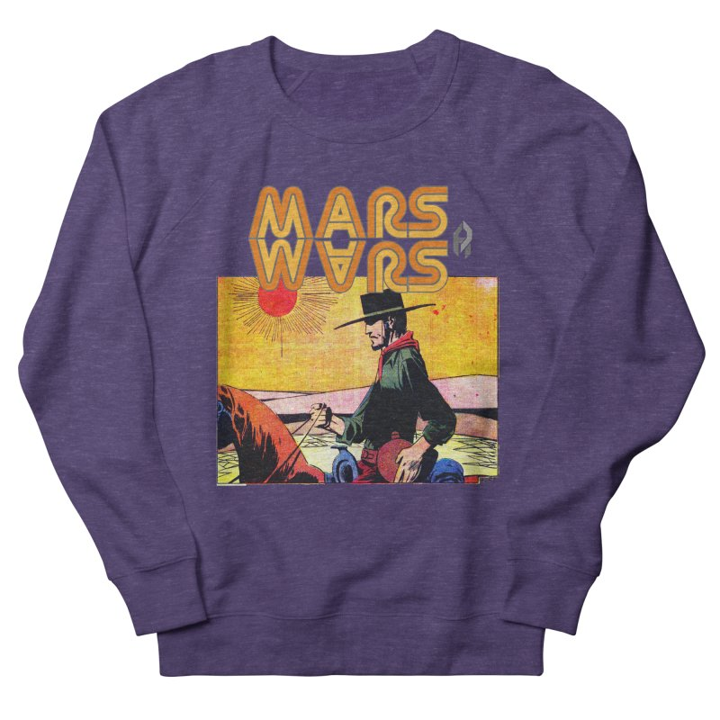 Mars Travels. Men's Sweatshirt by Shadeprint's Artist Shop