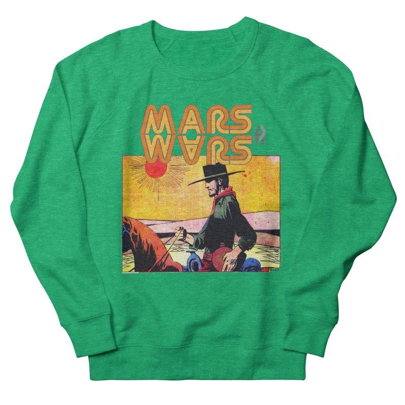 Mars Travels. Men's French Terry Sweatshirt by Shadeprint's Artist Shop