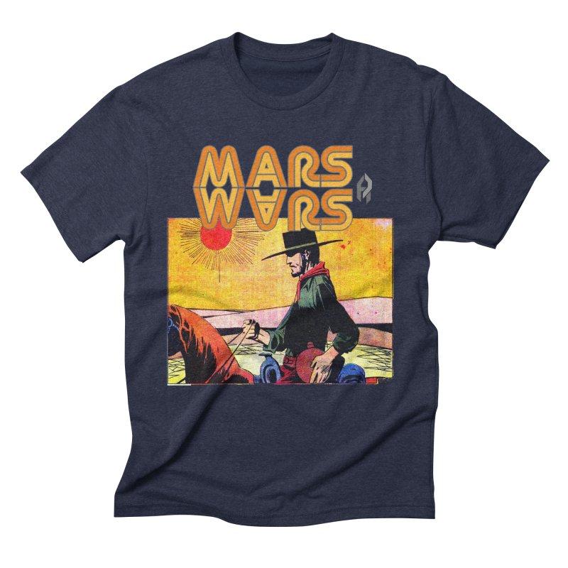 Mars Travels. Men's Triblend T-Shirt by Shadeprint's Artist Shop