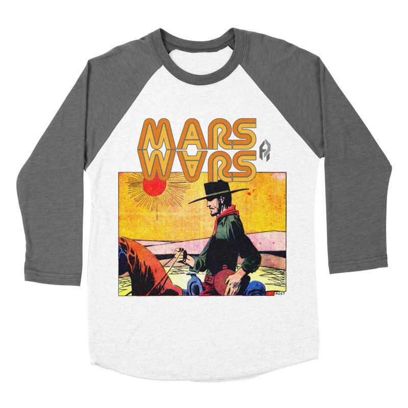 Mars Travels. Men's Baseball Triblend T-Shirt by Shadeprint's Artist Shop