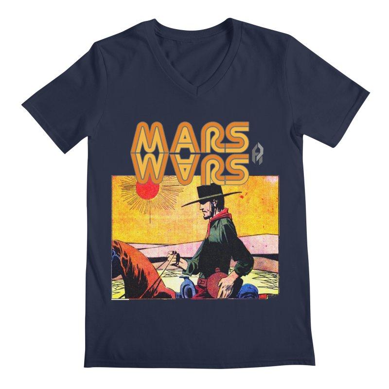Mars Travels. Men's V-Neck by Shadeprint's Artist Shop