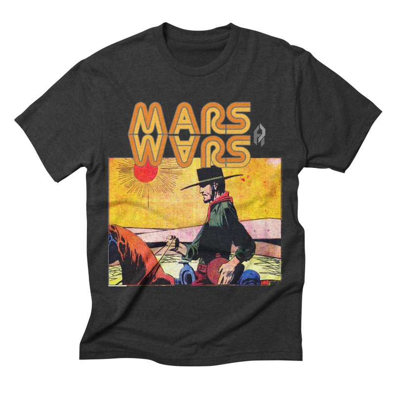 Mars Travels. Men's Triblend T-shirt by Shadeprint's Artist Shop