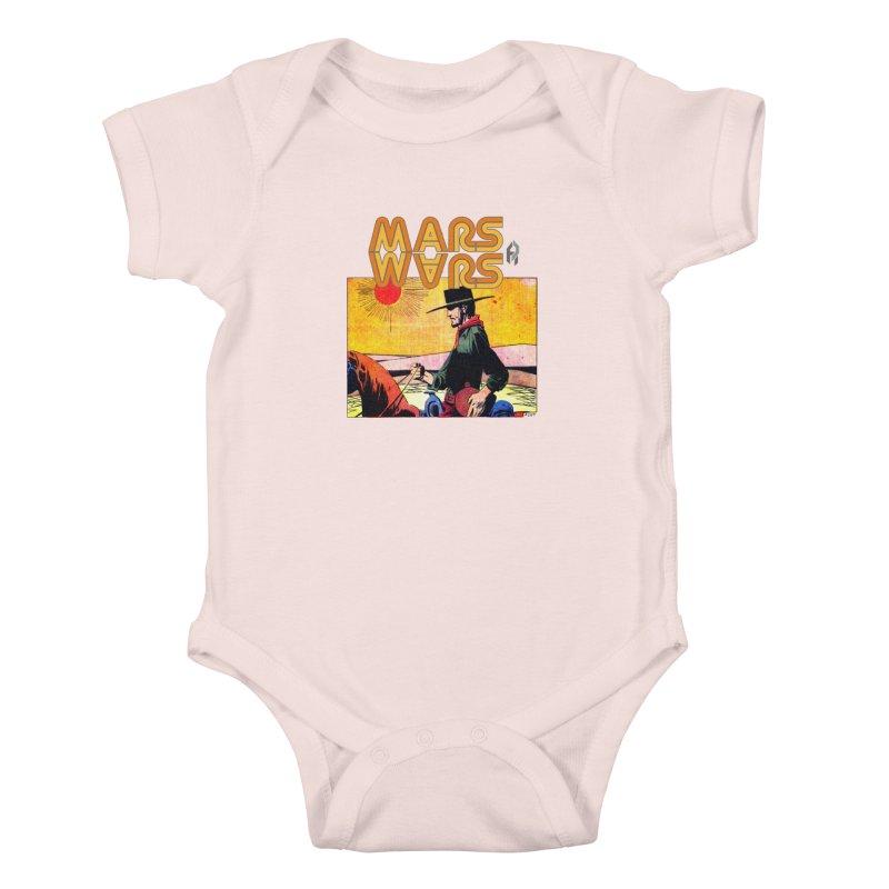Mars Travels. Kids Baby Bodysuit by Shadeprint's Artist Shop