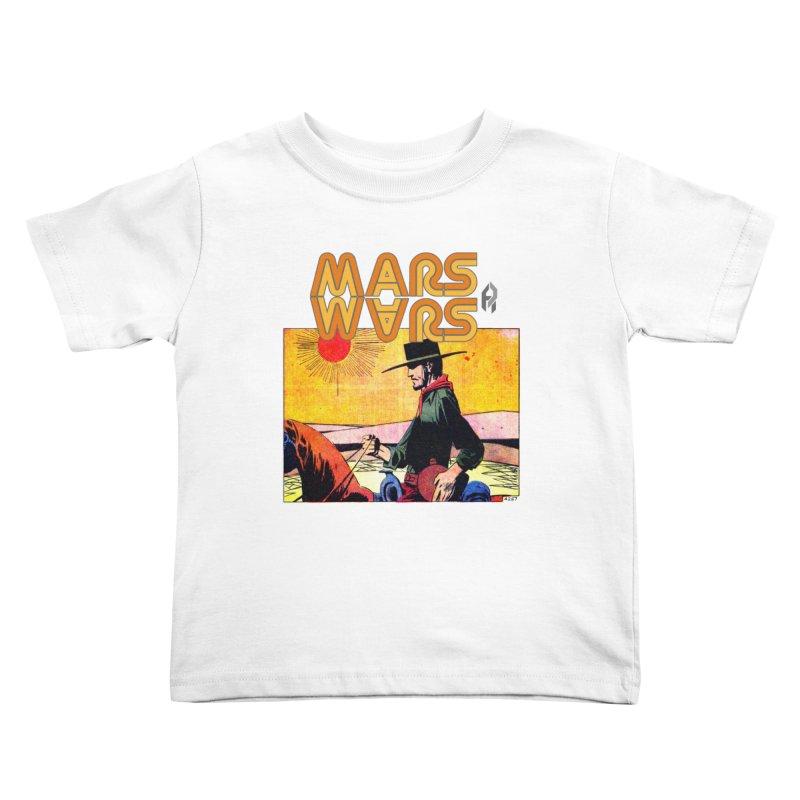 Mars Travels. Kids Toddler T-Shirt by Shadeprint's Artist Shop