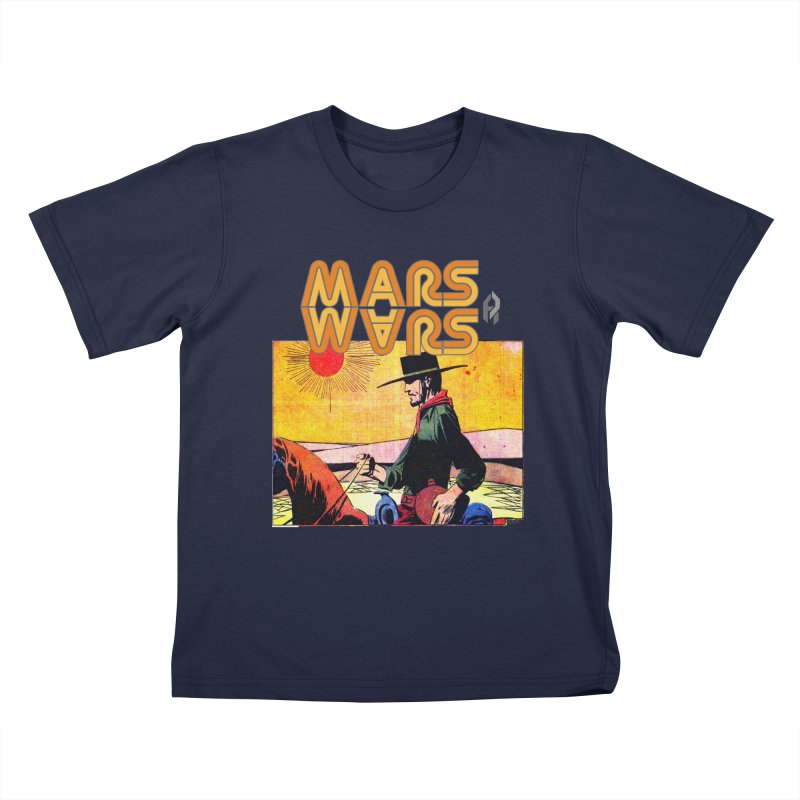 Mars Travels. Kids T-Shirt by Shadeprint's Artist Shop