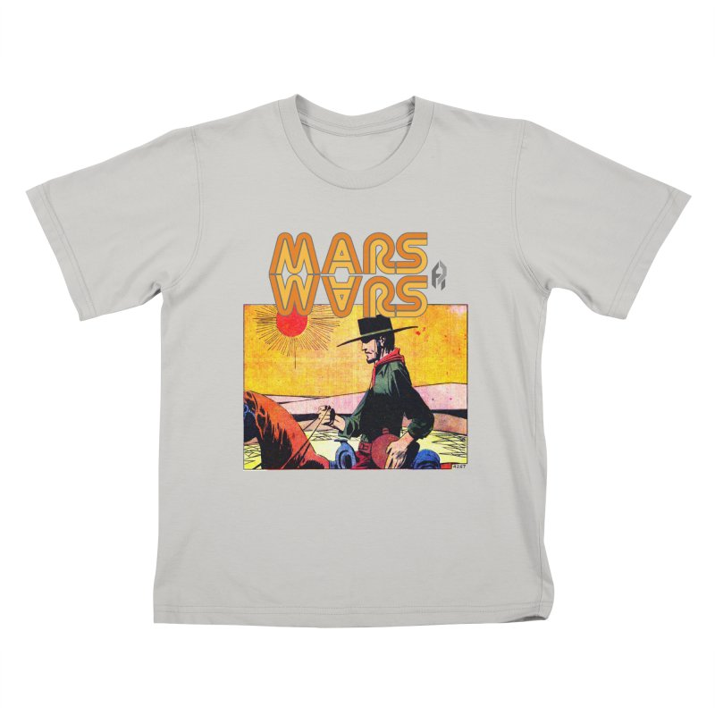 Mars Travels. Kids T-shirt by Shadeprint's Artist Shop