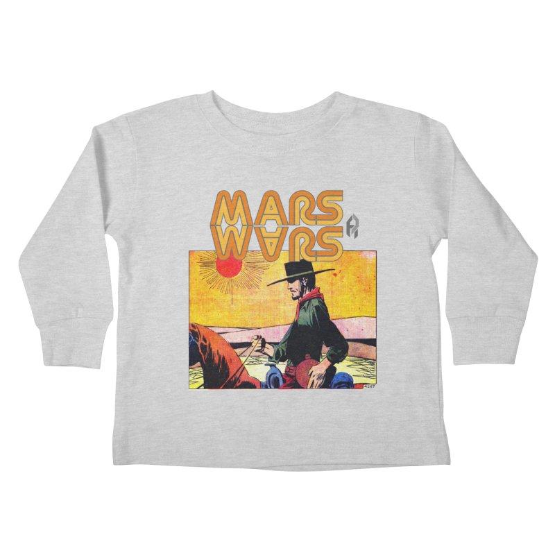 Mars Travels. Kids Toddler Longsleeve T-Shirt by Shadeprint's Artist Shop