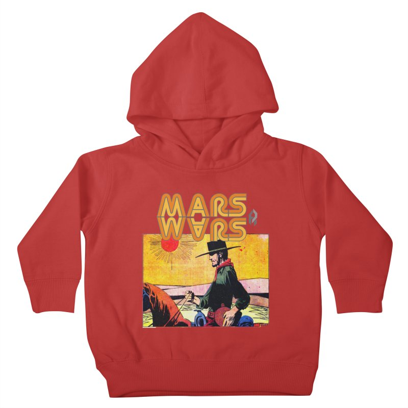 Mars Travels. Kids Toddler Pullover Hoody by Shadeprint's Artist Shop