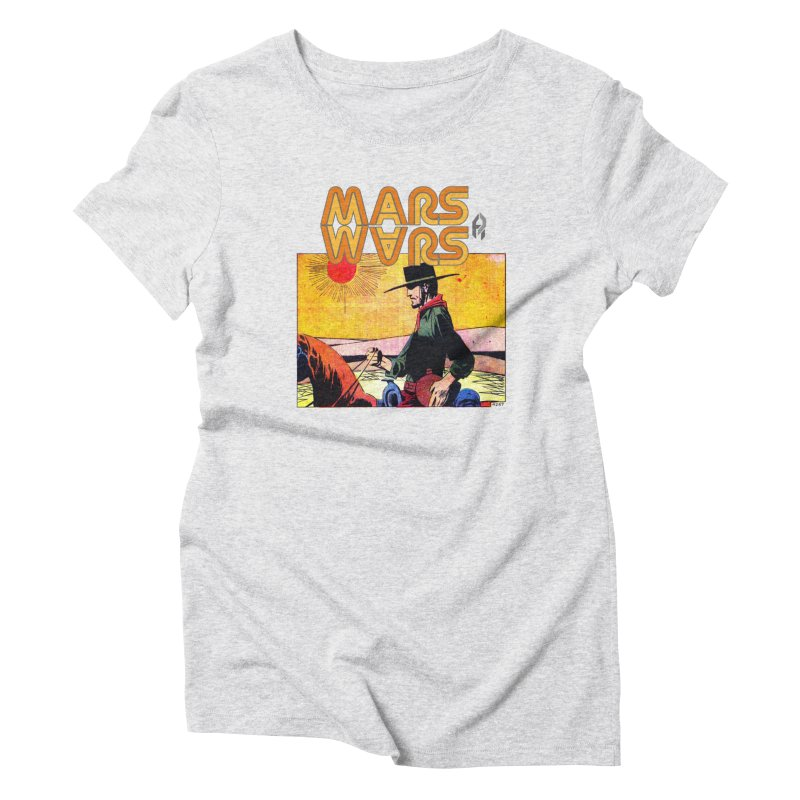 Mars Travels. Women's T-Shirt by Shadeprint's Artist Shop