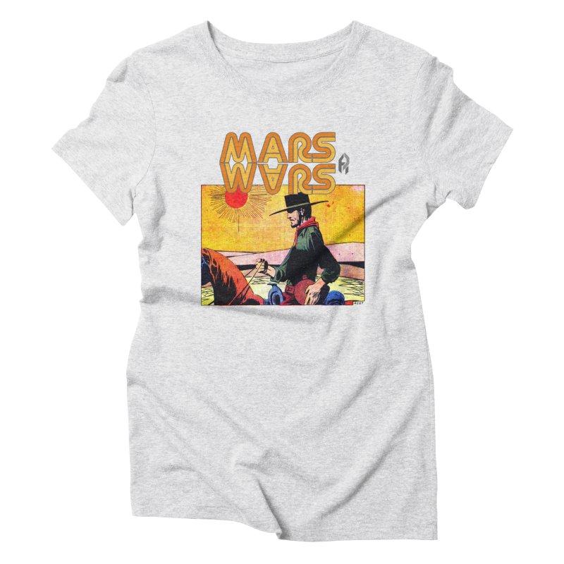 Mars Travels. Women's Triblend T-Shirt by Shadeprint's Artist Shop
