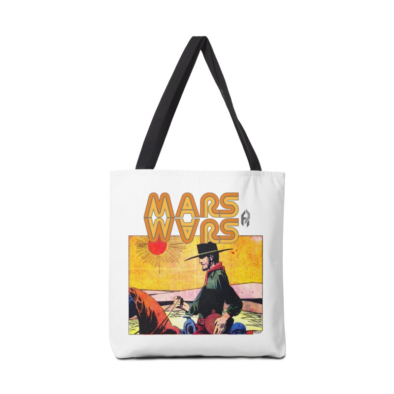 Mars Travels. Accessories Tote Bag Bag by Shadeprint's Artist Shop