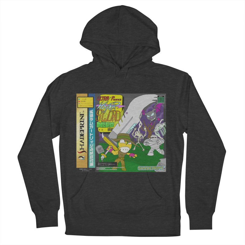 Super Power Hyper Sword Hero [CD Case insert] Women's Pullover Hoody by Shadeprint's Artist Shop