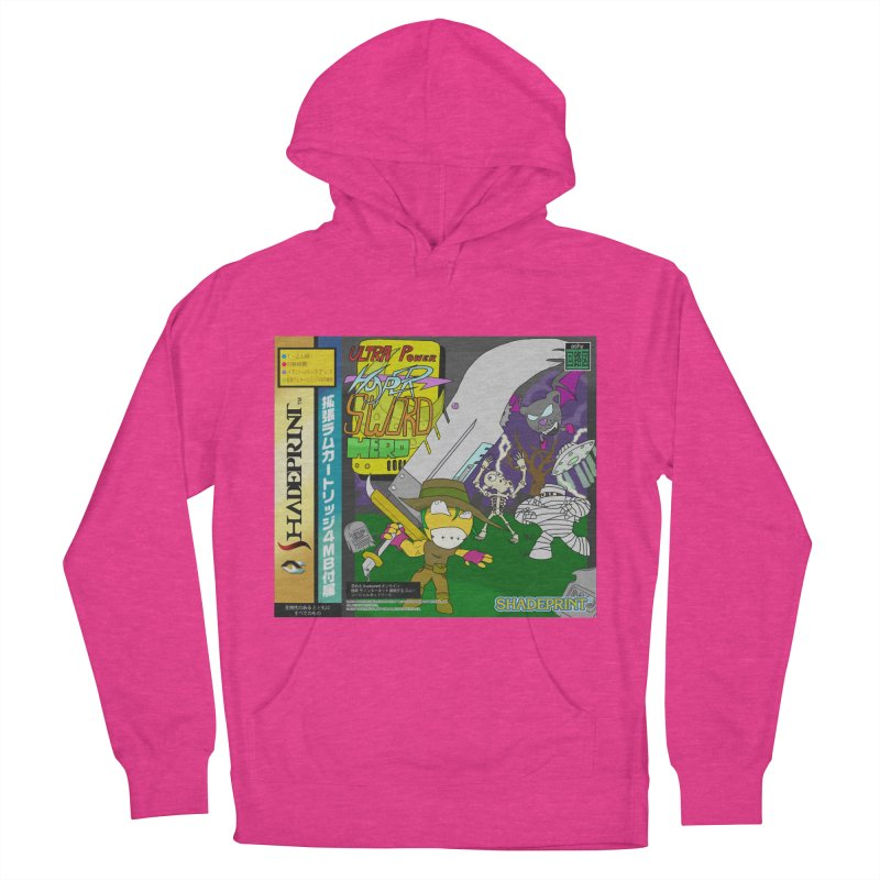 Super Power Hyper Sword Hero [CD Case insert] Men's Pullover Hoody by Shadeprint's Artist Shop