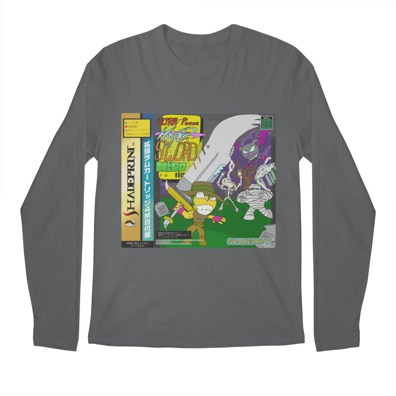 Super Power Hyper Sword Hero [CD Case insert] Men's Longsleeve T-Shirt by Shadeprint's Artist Shop