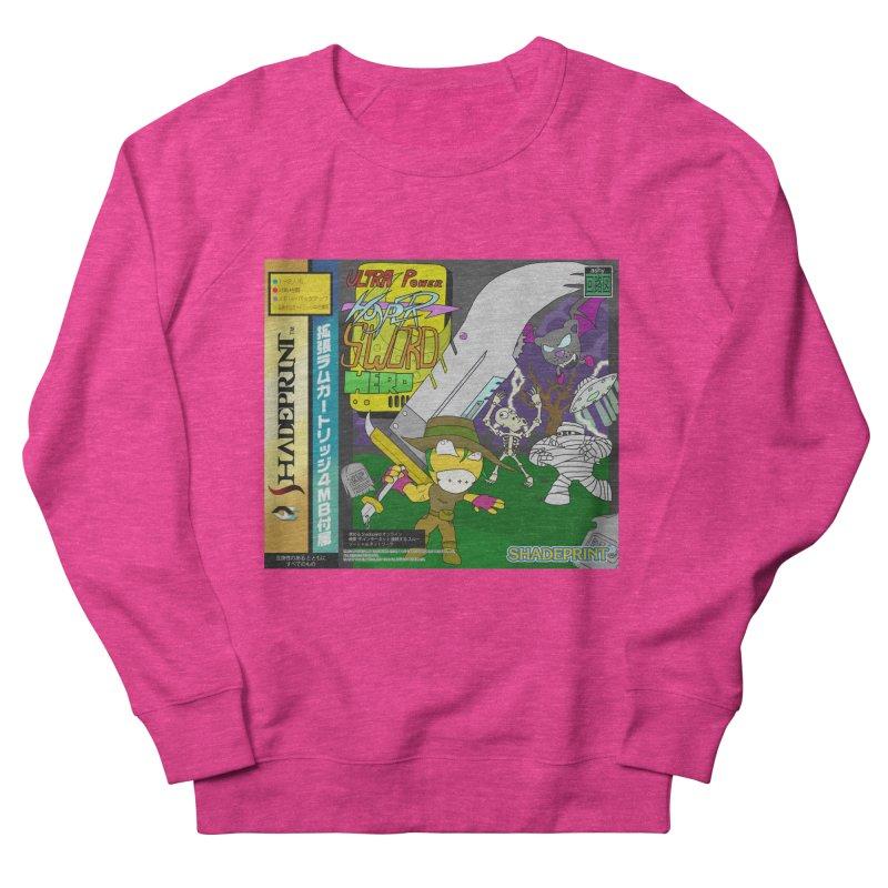 Super Power Hyper Sword Hero [CD Case insert] Women's Sweatshirt by Shadeprint's Artist Shop