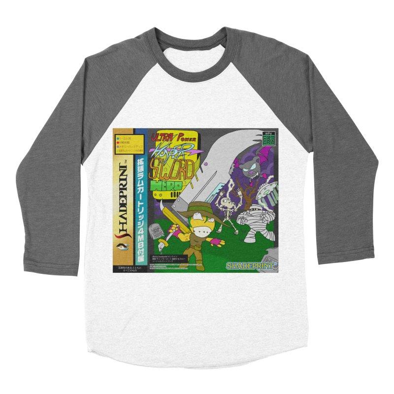 Super Power Hyper Sword Hero [CD Case insert] Women's Baseball Triblend T-Shirt by Shadeprint's Artist Shop