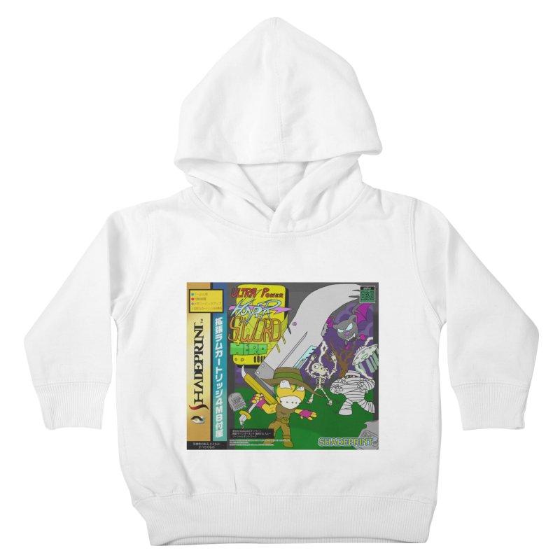 Super Power Hyper Sword Hero [CD Case insert] Kids Toddler Pullover Hoody by Shadeprint's Artist Shop