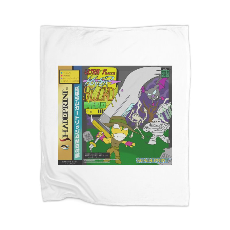 Super Power Hyper Sword Hero [CD Case insert] Home Blanket by Shadeprint's Artist Shop