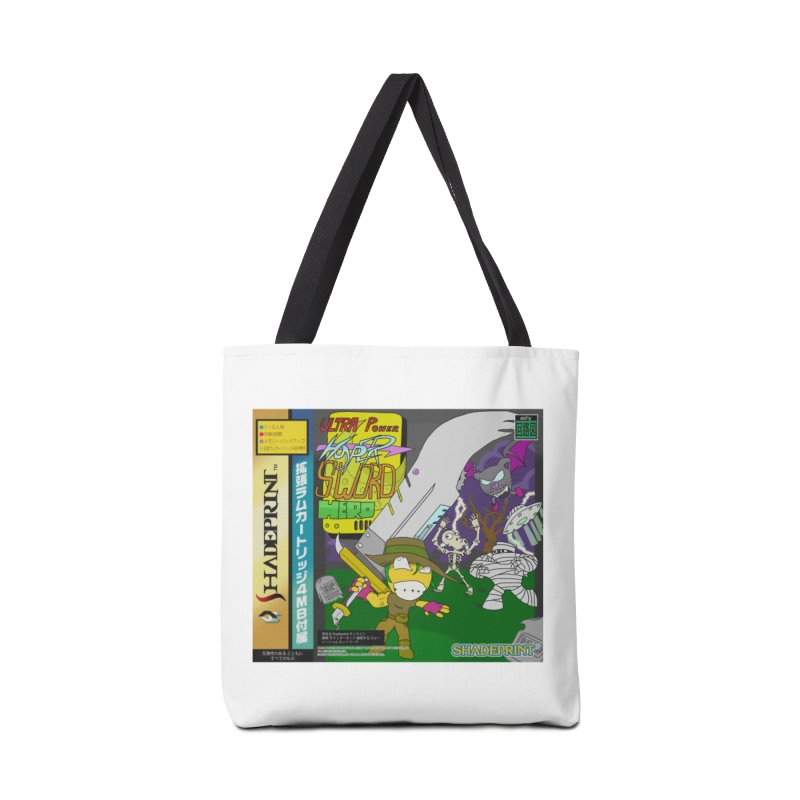 Super Power Hyper Sword Hero [CD Case insert] Accessories Tote Bag Bag by Shadeprint's Artist Shop