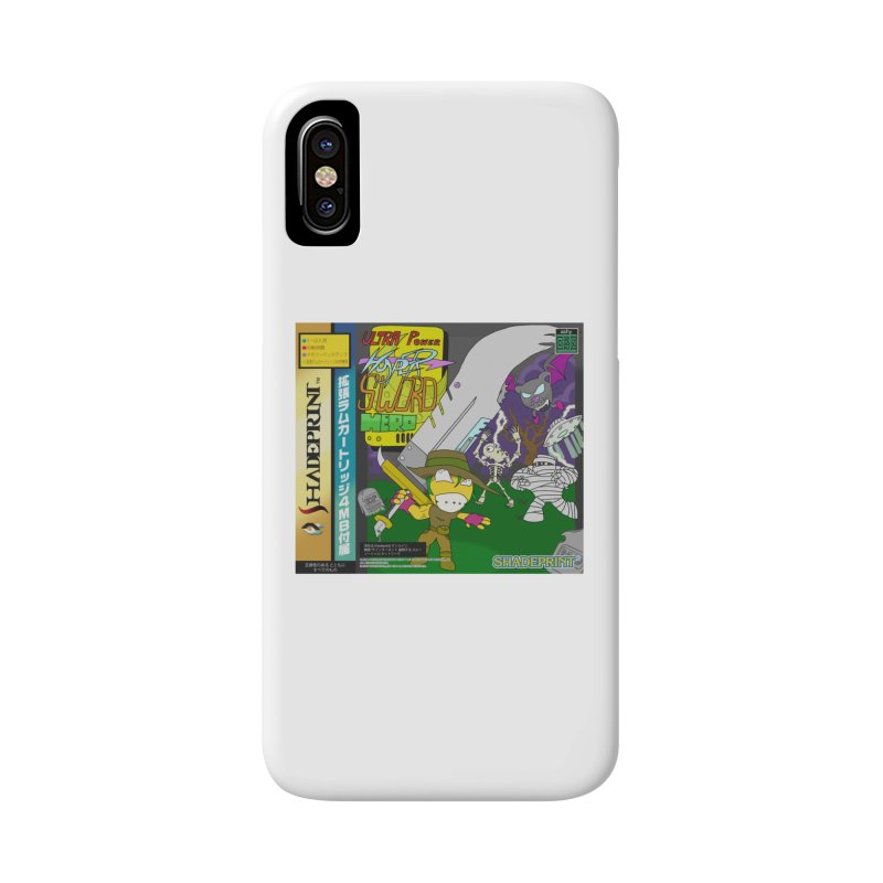 Super Power Hyper Sword Hero [CD Case insert] Accessories Phone Case by Shadeprint's Artist Shop