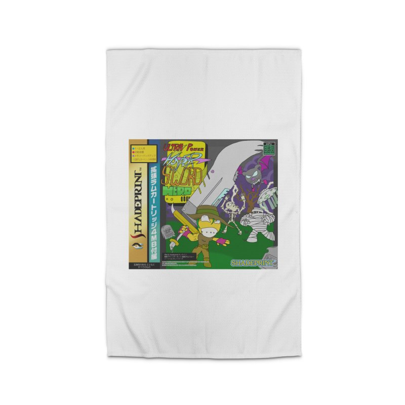 Super Power Hyper Sword Hero [CD Case insert] Home Rug by Shadeprint's Artist Shop