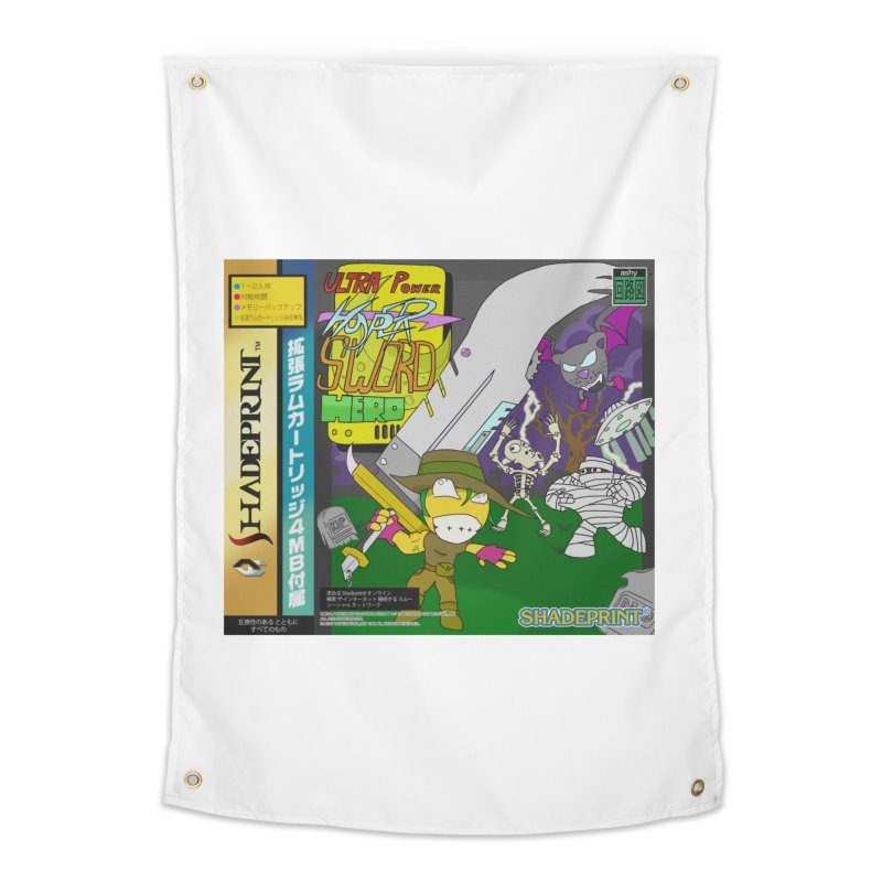 Super Power Hyper Sword Hero [CD Case insert] Home Tapestry by Shadeprint's Artist Shop