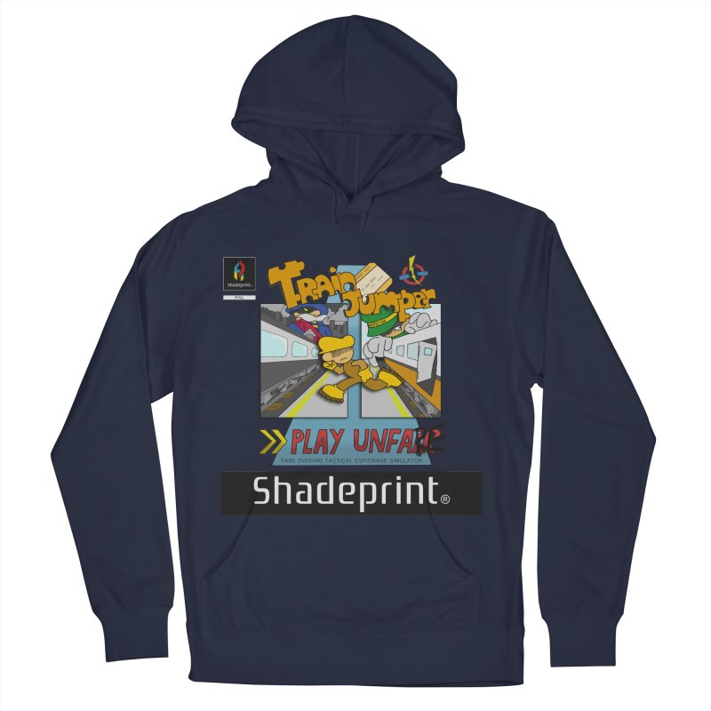Train Jumper. (Jewel Case Sleeve) [FRONT]. Women's Pullover Hoody by Shadeprint's Artist Shop