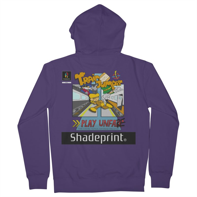 Train Jumper. (Jewel Case Sleeve) [FRONT].   by Shadeprint's Artist Shop