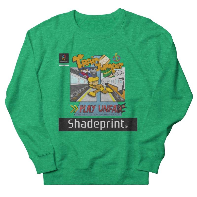 Train Jumper. (Jewel Case Sleeve) [FRONT]. Women's Sweatshirt by Shadeprint's Artist Shop