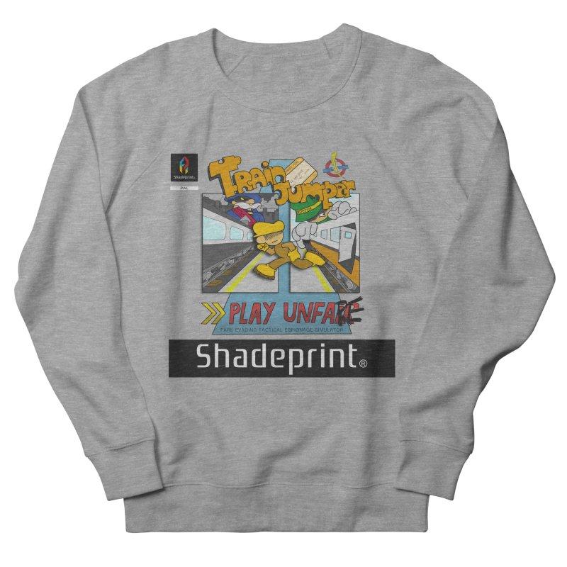 Train Jumper. (Jewel Case Sleeve) [FRONT]. Men's French Terry Sweatshirt by Shadeprint's Artist Shop