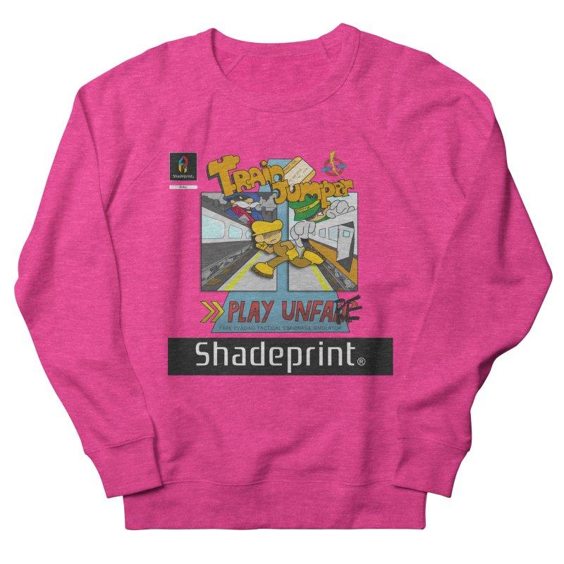 Train Jumper. (Jewel Case Sleeve) [FRONT]. Men's Sweatshirt by Shadeprint's Artist Shop