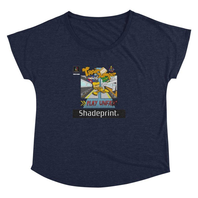 Train Jumper. (Jewel Case Sleeve) [FRONT]. Women's Dolman by Shadeprint's Artist Shop