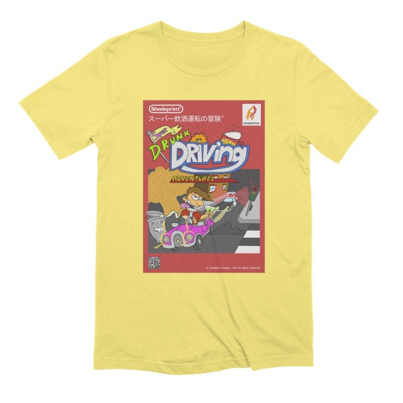 Super Drunk Driving Adventures (Cover Art [JAP]) Men's T-Shirt by Shadeprint's Artist Shop