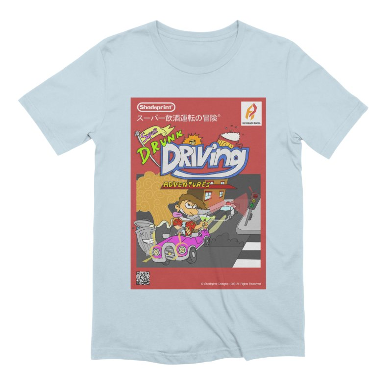 Super Drunk Driving Adventures (Cover Art [JAP]) Men's T-Shirt by Shadeprint's Artist Shop