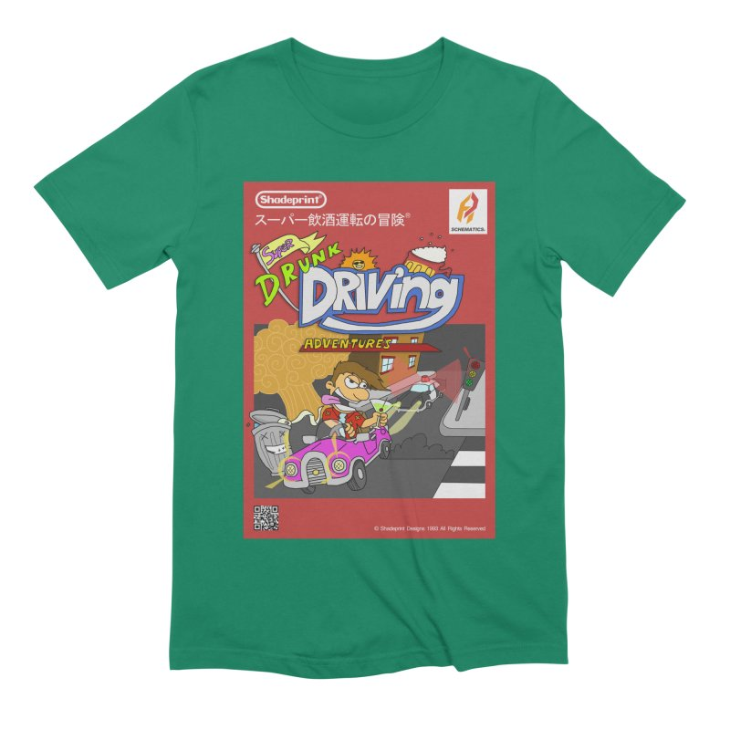 Super Drunk Driving Adventures (Cover Art [JAP]) Men's T-Shirt by SHADEPRINT.DESIGN