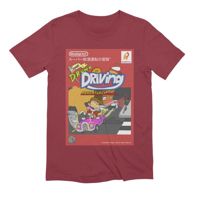Super Drunk Driving Adventures (Cover Art [JAP]) Men's T-Shirt by SHADEPRINT.DESIGN