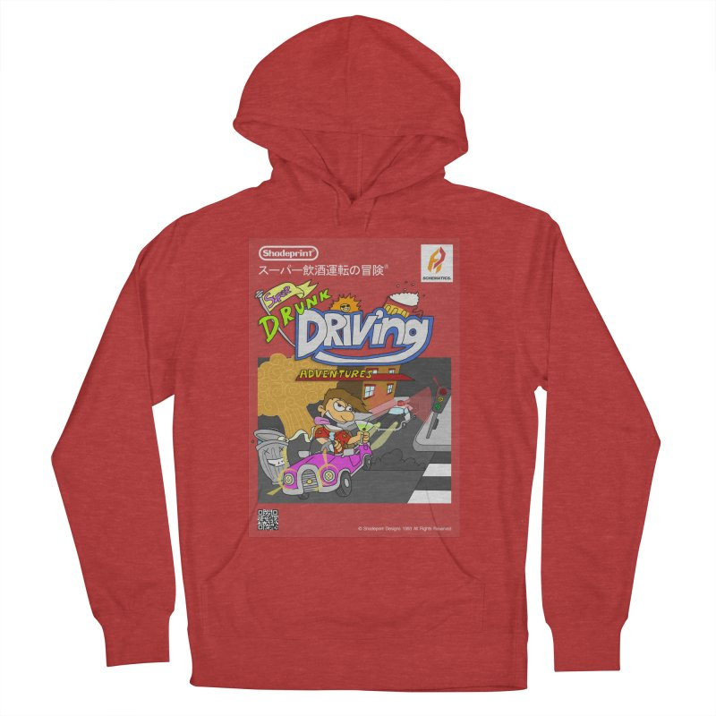 Super Drunk Driving Adventures (Cover Art [JAP]) Women's French Terry Pullover Hoody by Shadeprint's Artist Shop