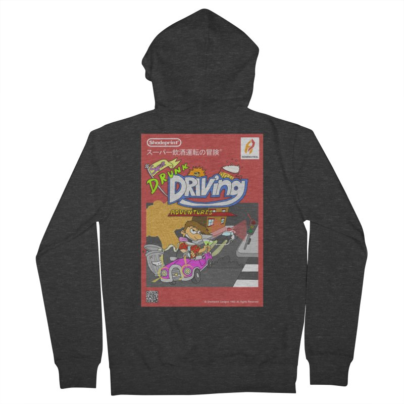 Super Drunk Driving Adventures (Cover Art [JAP]) Men's French Terry Zip-Up Hoody by Shadeprint's Artist Shop