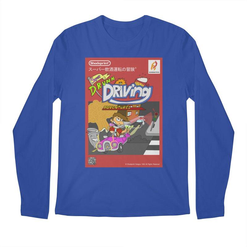 Super Drunk Driving Adventures (Cover Art [JAP]) Men's Longsleeve T-Shirt by Shadeprint's Artist Shop