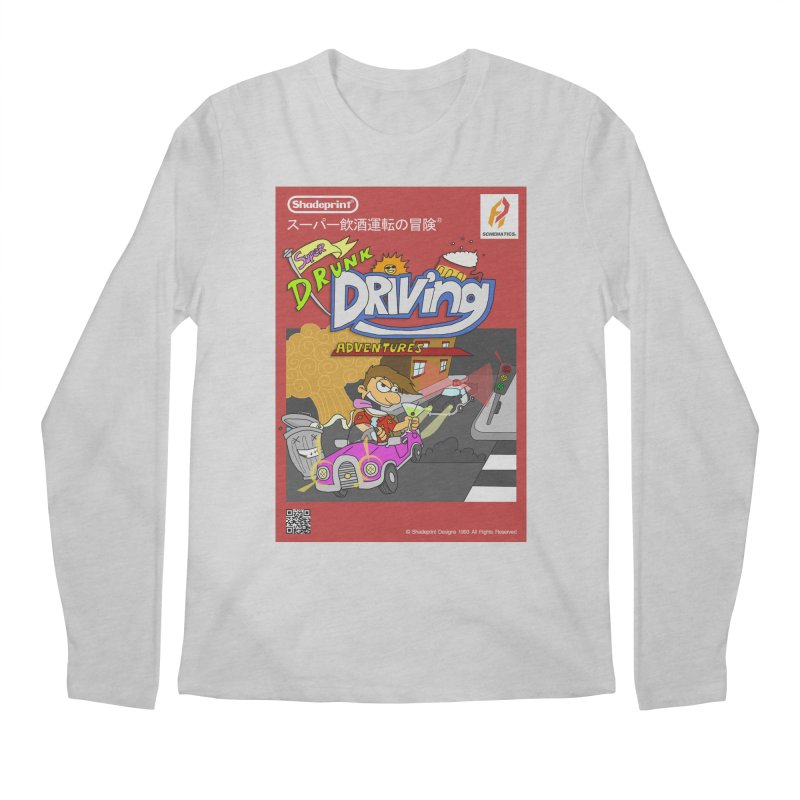Super Drunk Driving Adventures (Cover Art [JAP]) Men's Regular Longsleeve T-Shirt by Shadeprint's Artist Shop