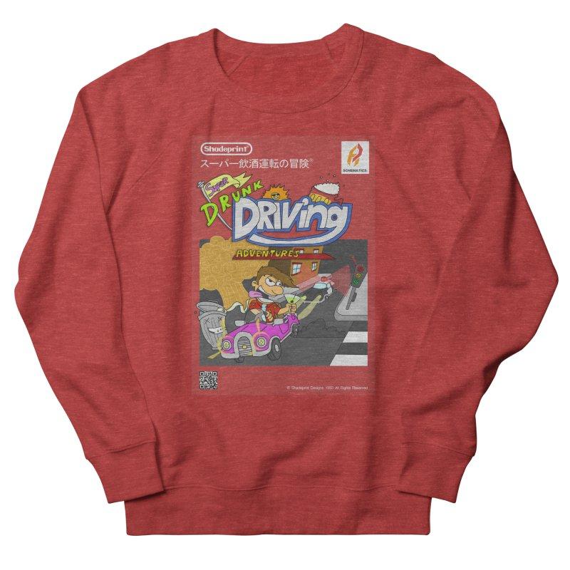 Super Drunk Driving Adventures (Cover Art [JAP]) Men's French Terry Sweatshirt by Shadeprint's Artist Shop