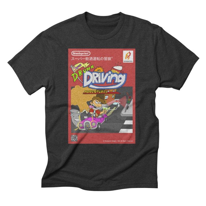 Super Drunk Driving Adventures (Cover Art [JAP]) Men's Triblend T-Shirt by Shadeprint's Artist Shop