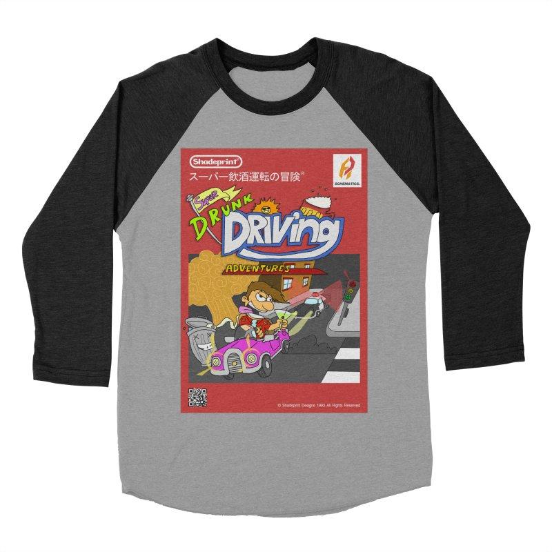 Super Drunk Driving Adventures (Cover Art [JAP]) Women's Baseball Triblend T-Shirt by Shadeprint's Artist Shop